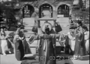 1930年代米国映画のタイ韓国旅行記