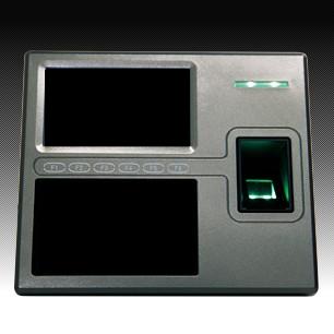 大阪中国総領事館のカウンターにあった指紋登録の機械に似た機械
