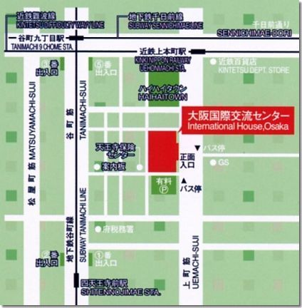 帰化等の相談会開催場所地図/国際交流センター