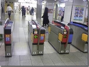地下鉄なんば駅北東改札内