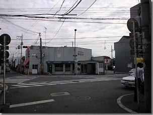 帰化で富田林支局に行く/富田林西口駅前交差点を望む